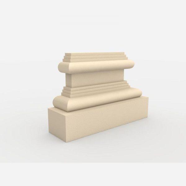 Baza pilastra PB - 1/300 Wysokość 17,5 cm