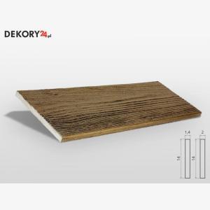 Deska Drewnopodobna Ciemny Dąb Wysokość 200 cm