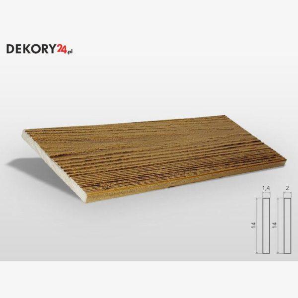 Deska Imitacja Drewna Dąb Wysokość 200 cm