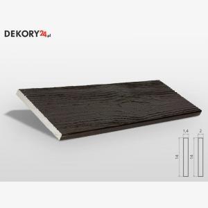 Deska Imitacja Drewna Palisander Ciemny Wysokość 200 cm