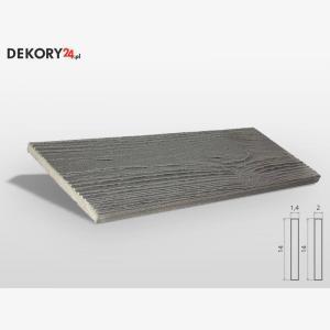 Deska Imitacja Drewna Szary Wysokość 200 cm