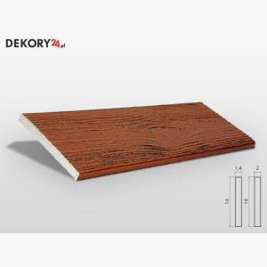 Deska Imitująca Drewno Kasztan Wysokość 200 cm