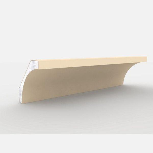 Faseta pod podbitkę FE - 1 Wysokość 200 cm