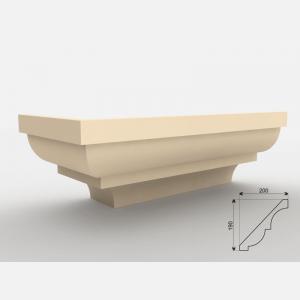 Faseta pod podbitkę FE - 6 Wysokość 200 cm
