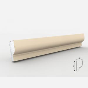 Listwa wokółokienna - LE - 25 Wysokość Powlekany tynkiem sztukatorskim Styropian EPS200, odporny na warunki atmosferyczne i mikropęknięcia. Naszą sztukaterię należy pomalować na dowolny kolor farbą elewacyjną silikonową lub akrylową. cm