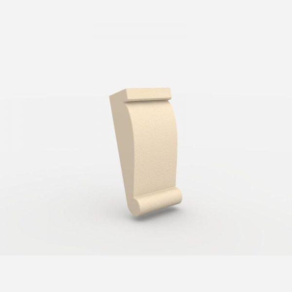 Wspornik ozdobny - WE1 Wysokość 15,5 cm