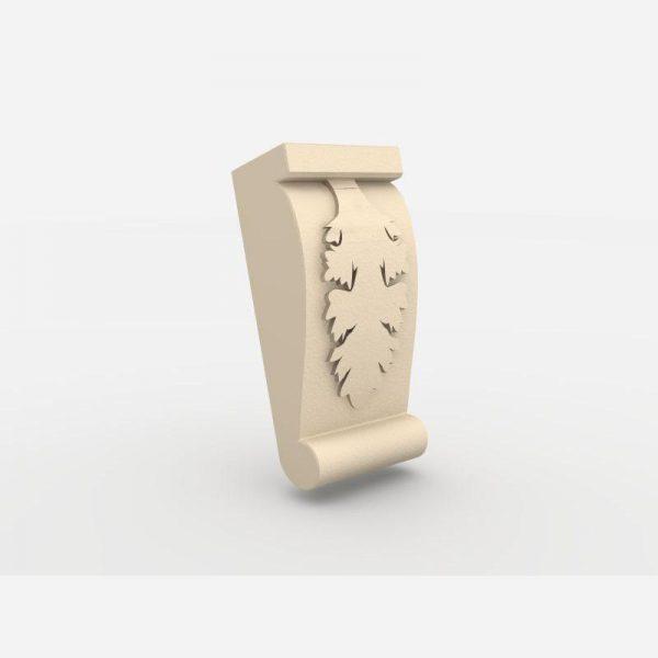 Wspornik ozdobny - WE3 Wysokość 17,5 cm