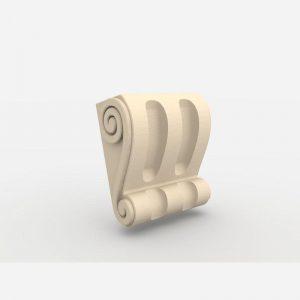 Wspornik ozdobny - WE4 Wysokość 16 cm